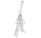Лестница алюминиевая складная 3х12 KRAUSE STABILO