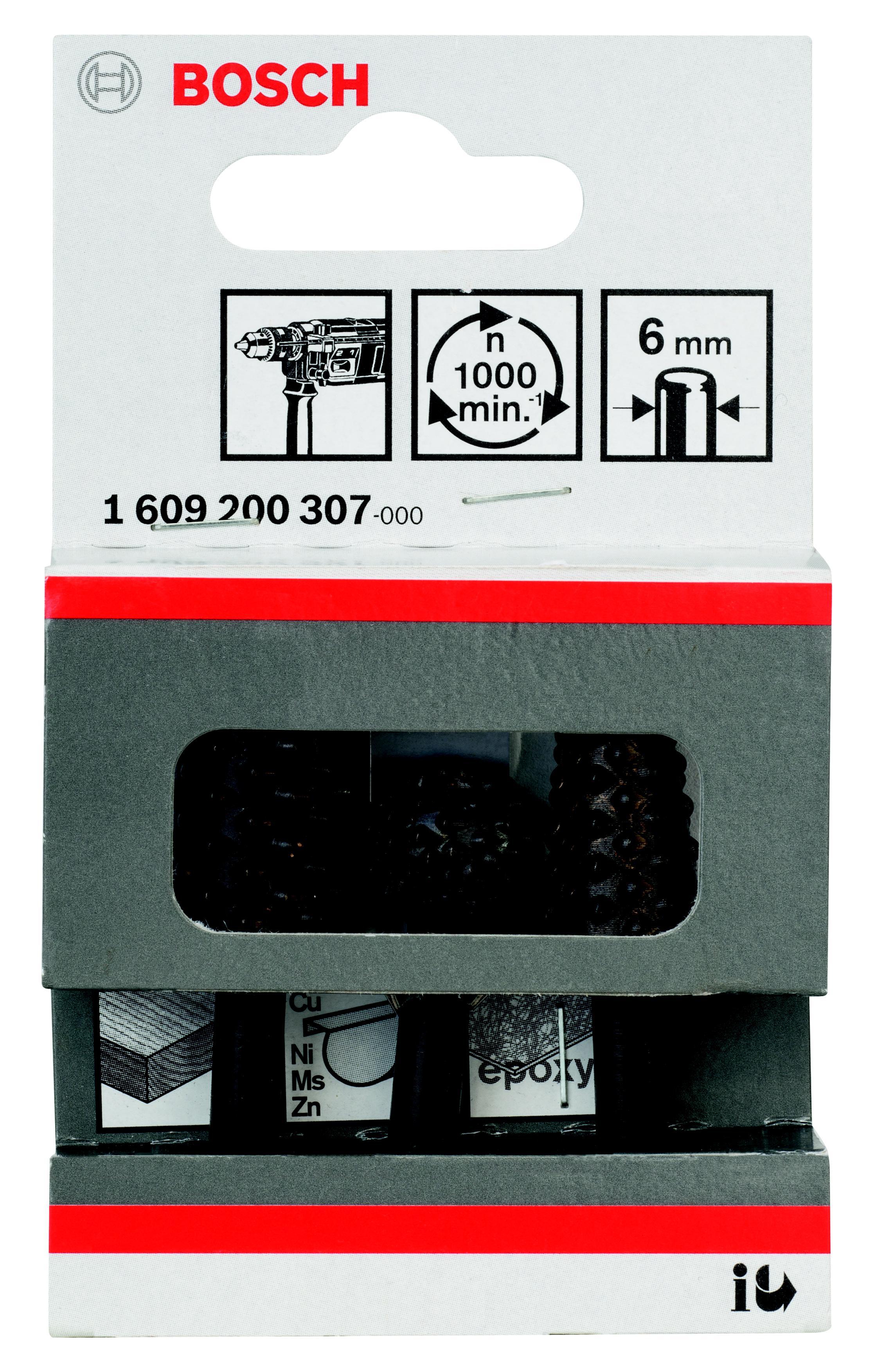 Набор фрез Bosch 3шт., хвостовик 6 мм (1.609.200.307) набор фрез bosch хвостик 8 мм 6 шт