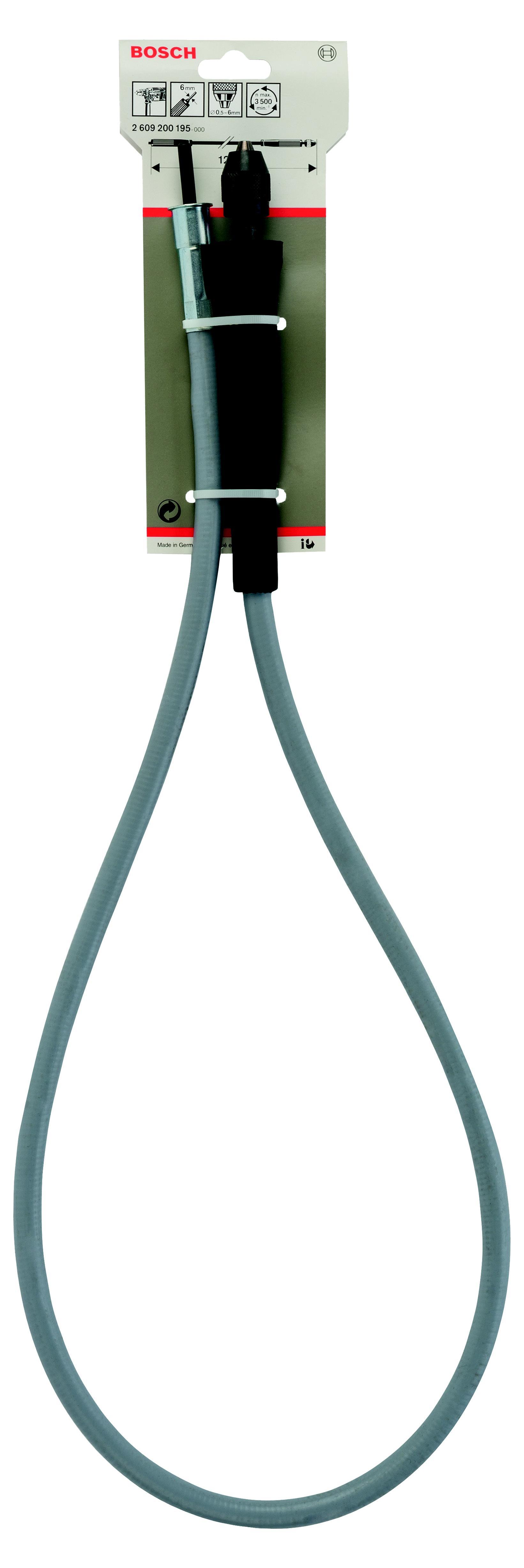 Гибкий вал для дрели Bosch гибкий вал для дрели (2.609.200.195) гибкий вал dde 241 727 zx45 4м
