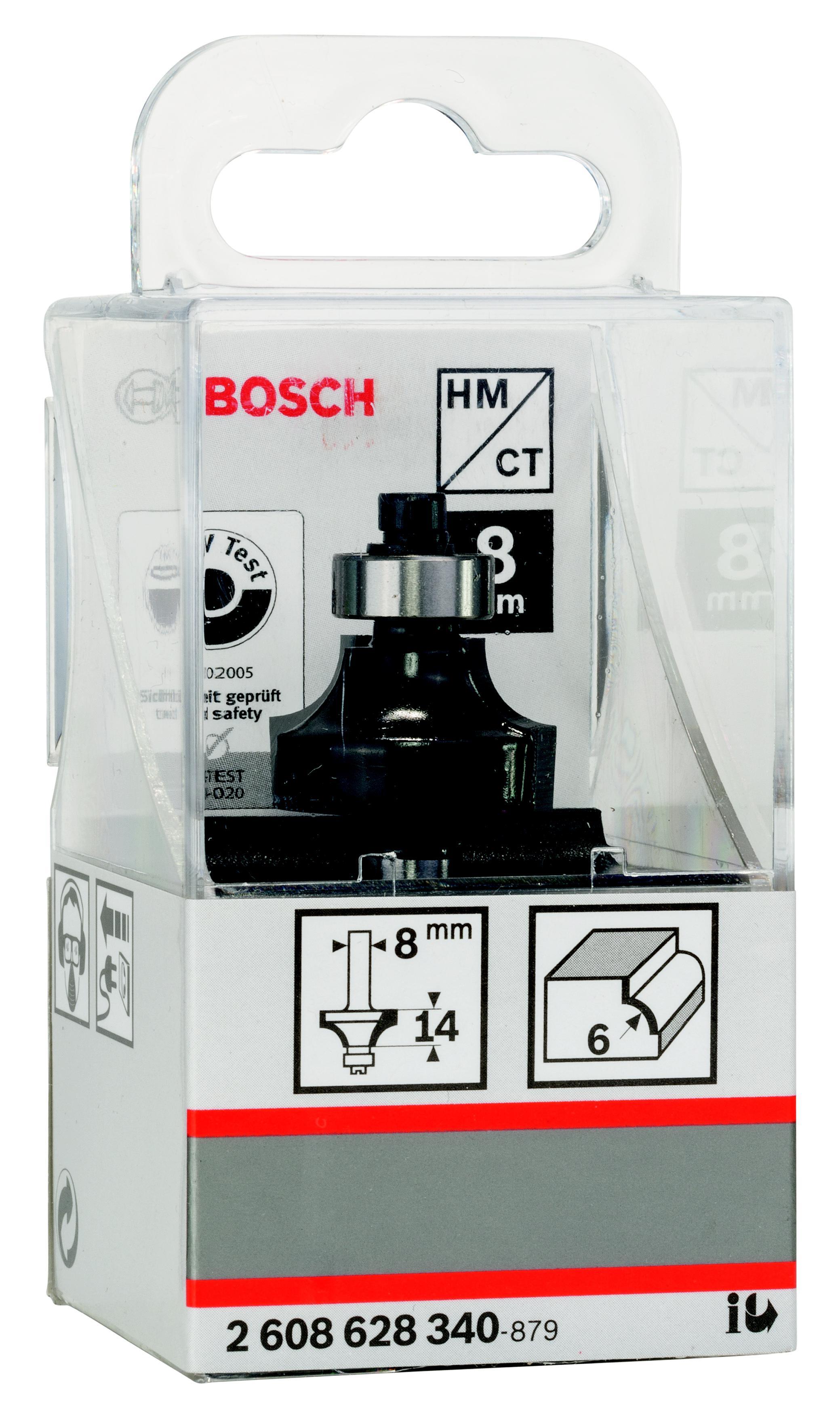 Купить Фреза Bosch карнизная 6/14/8 (2.608.628.340), Германия