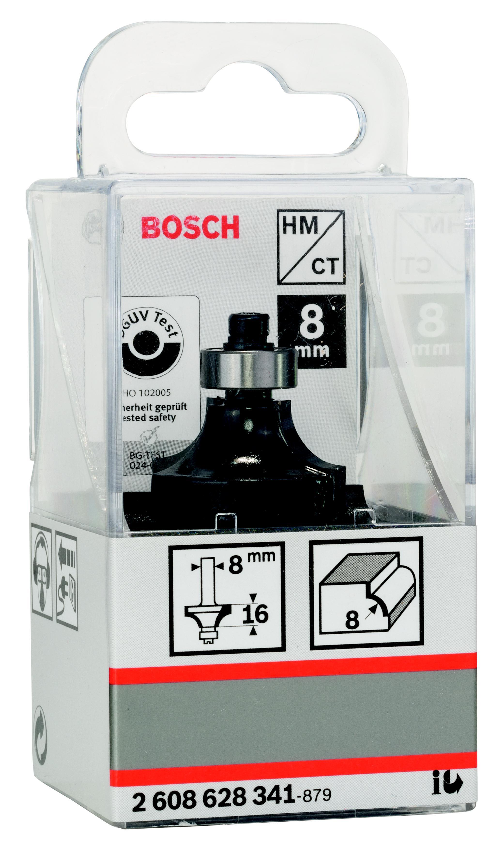 Фреза Bosch карнизная 8/16/8 (2.608.628.341) браслет тигровый глаз 8 мм 16 cм