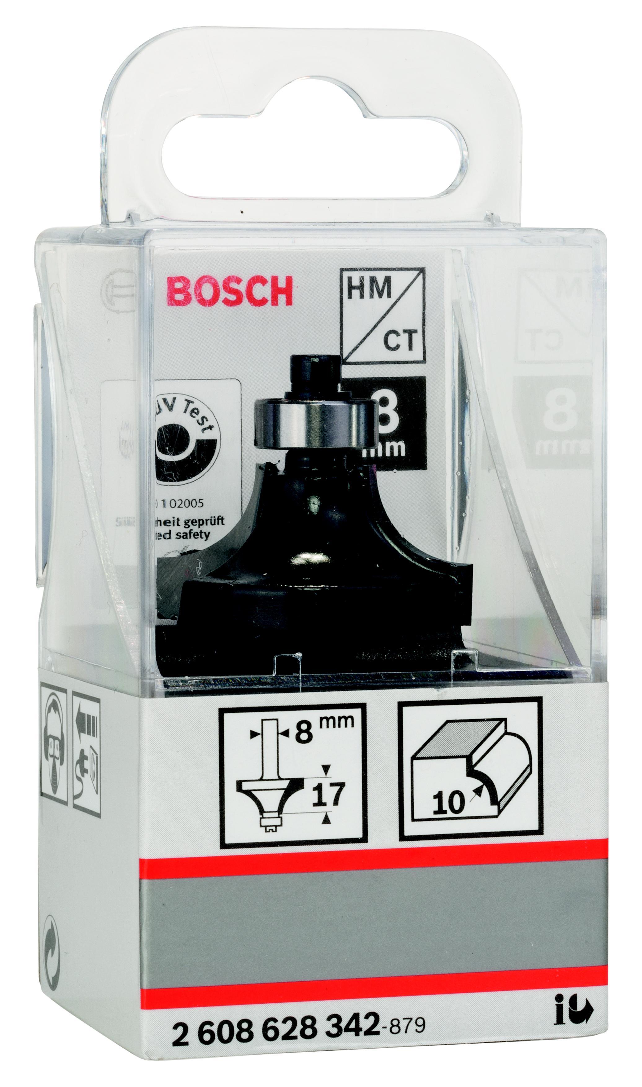 цена на Фреза Bosch Ф10мм s8мм 17мм (2.608.628.342)