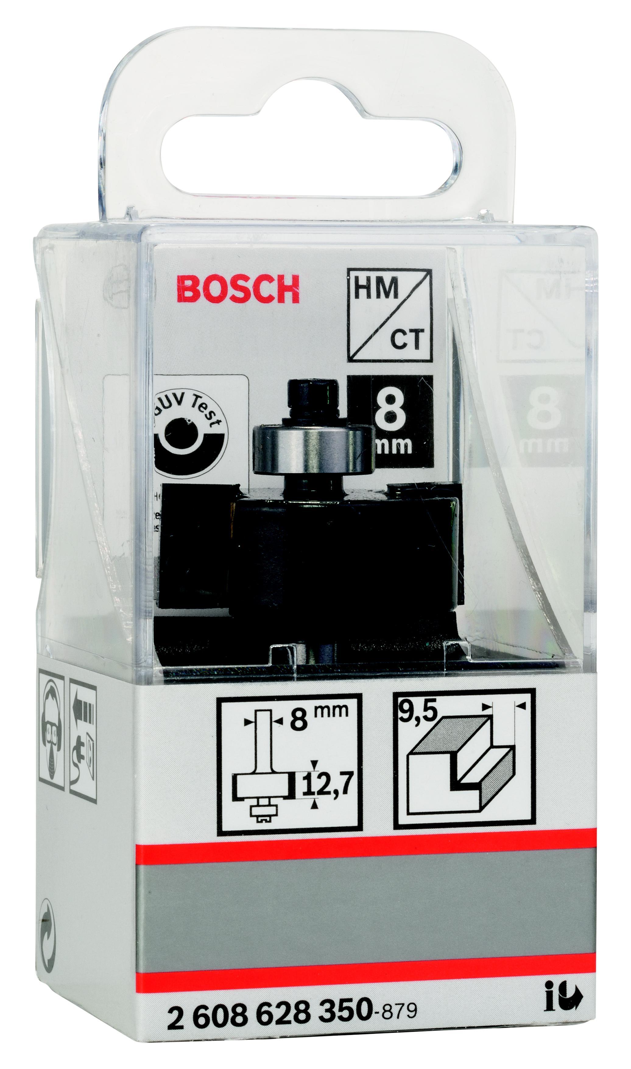 Фреза Bosch для выборки паза 9.5/12.7/8 (2.608.628.350)