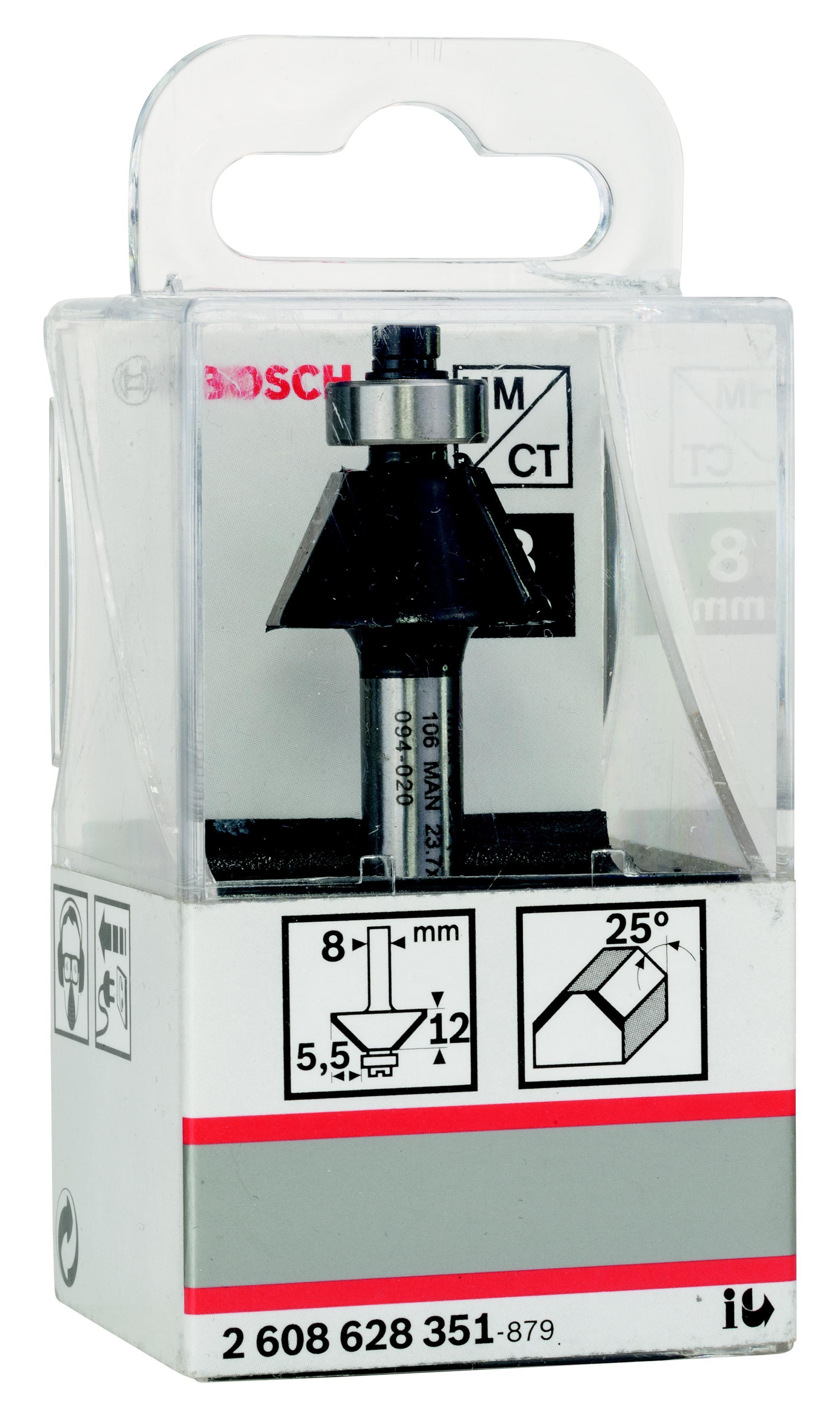 Фреза Bosch для снятия фаски 5.5/12/8 (2.608.628.351)