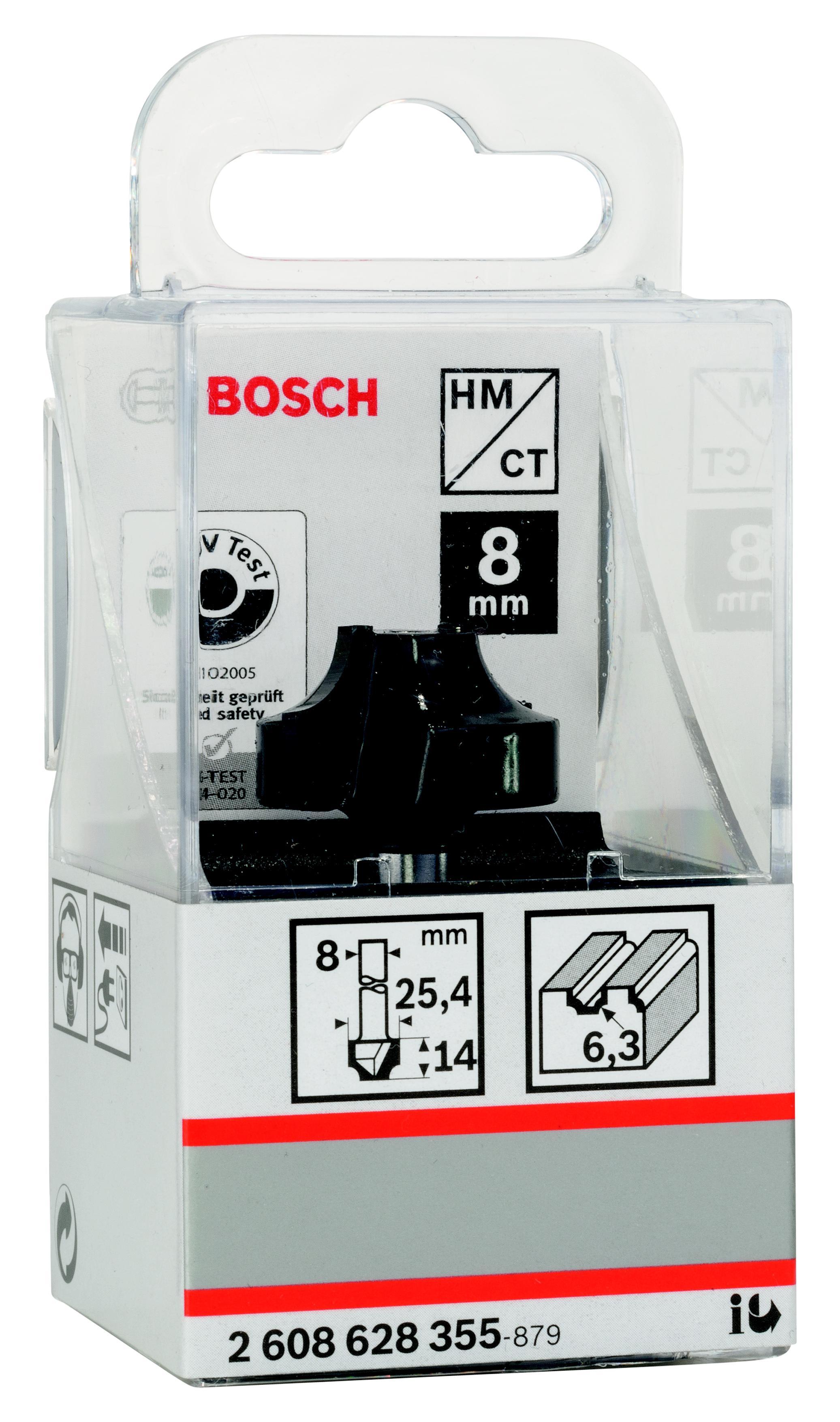 Купить Фреза Bosch профильная e 6.3/14.3/8 (2.608.628.355), Германия