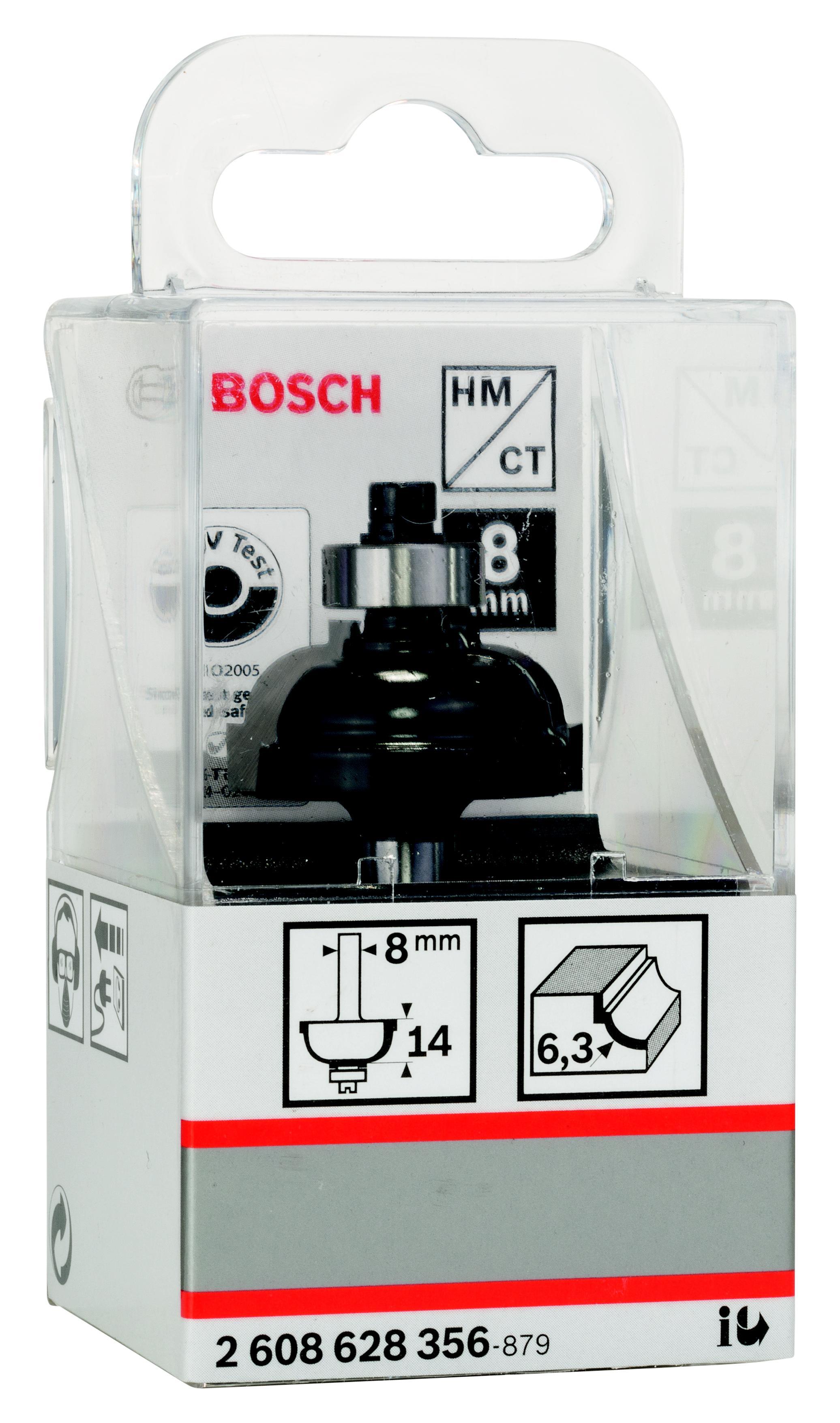 Фреза Bosch профильная f 6.3/13.5/8 (2.608.628.356)