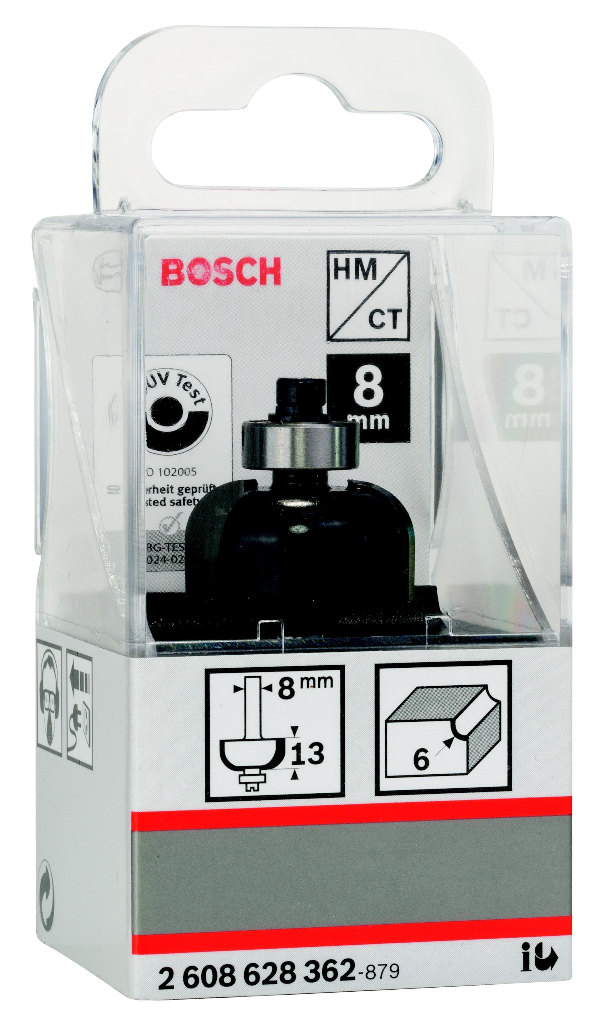 Купить Фреза Bosch галтельная 6/13/8 (2.608.628.362), Германия