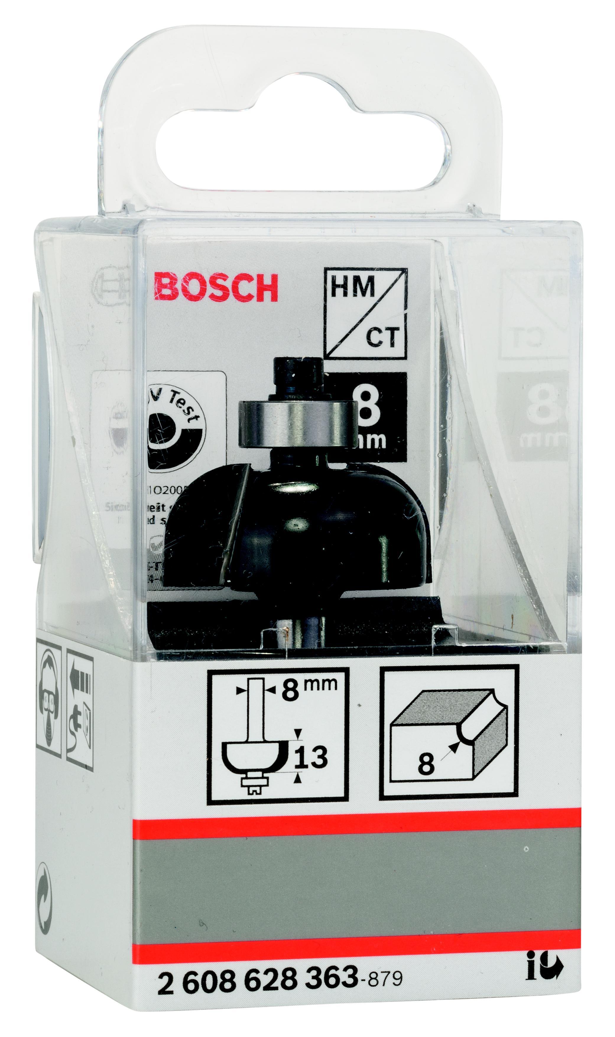 Фреза Bosch галтельная 8/13/8 (2.608.628.363) фреза галтельная bosch 2608628369