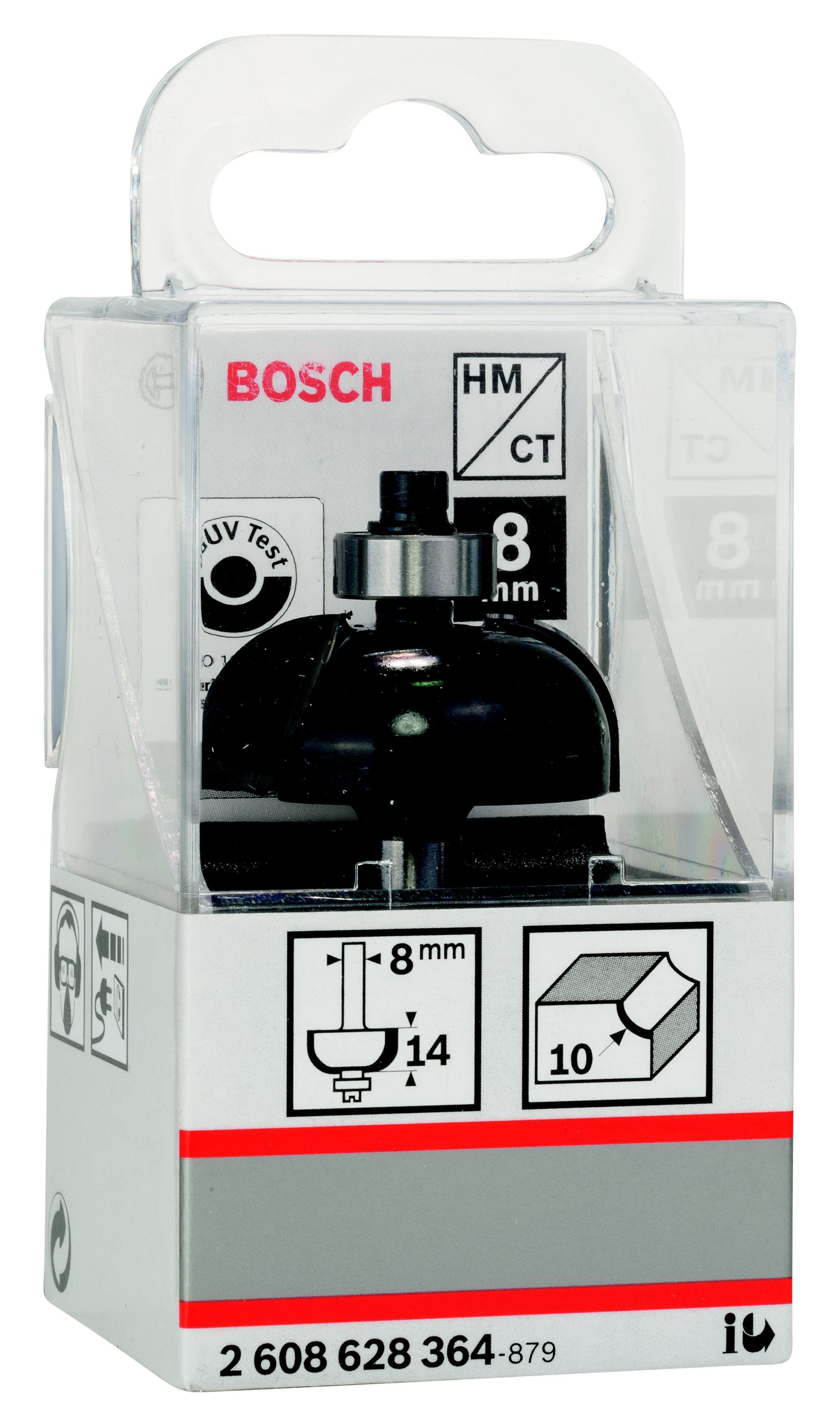 Фреза Bosch галтельная 10/14/8 (2.608.628.364) фреза галтельная bosch 2608628369