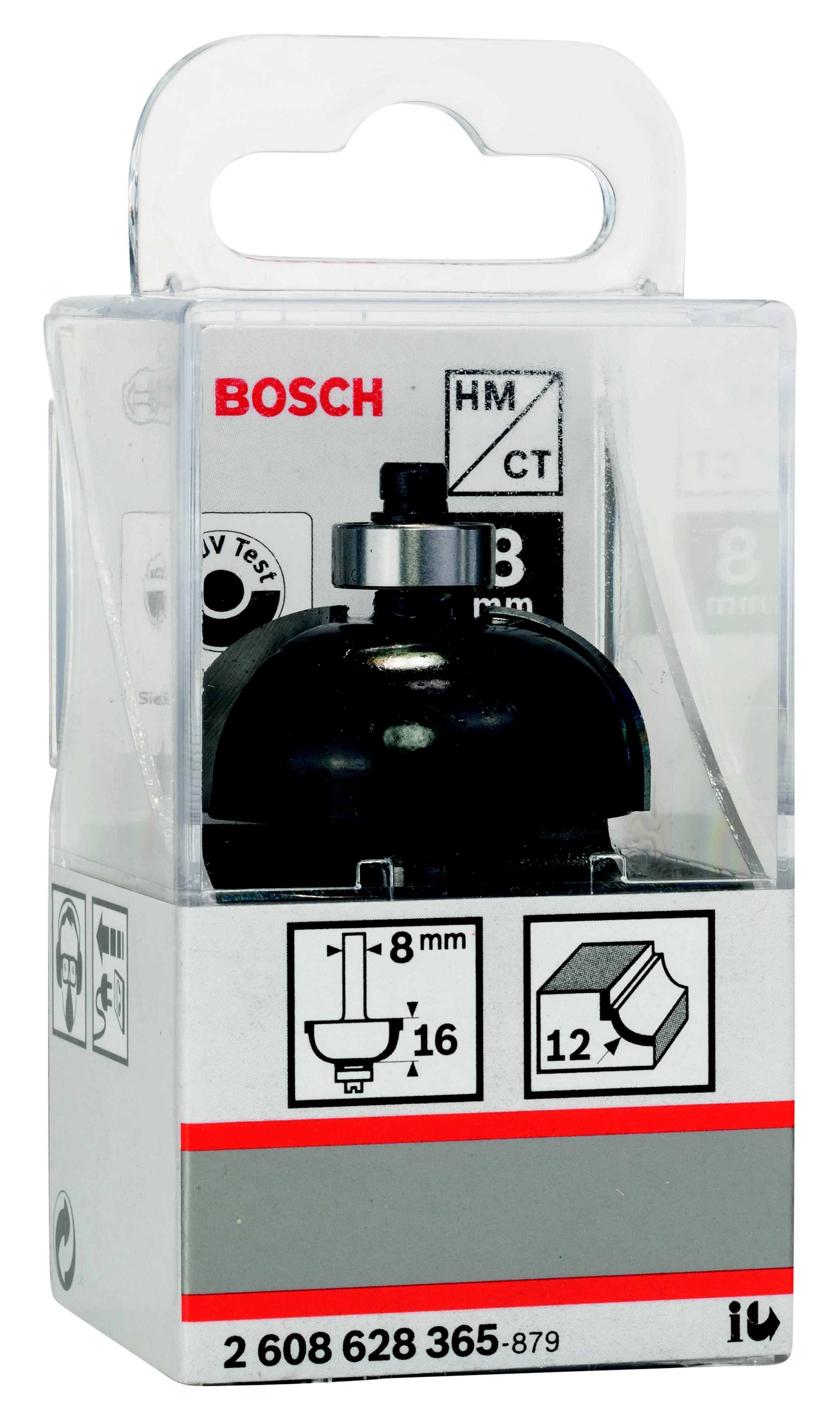 Фреза Bosch галтельная 12/16/8 (2.608.628.365, галтельная 12/16/8 (2.608.628.365)