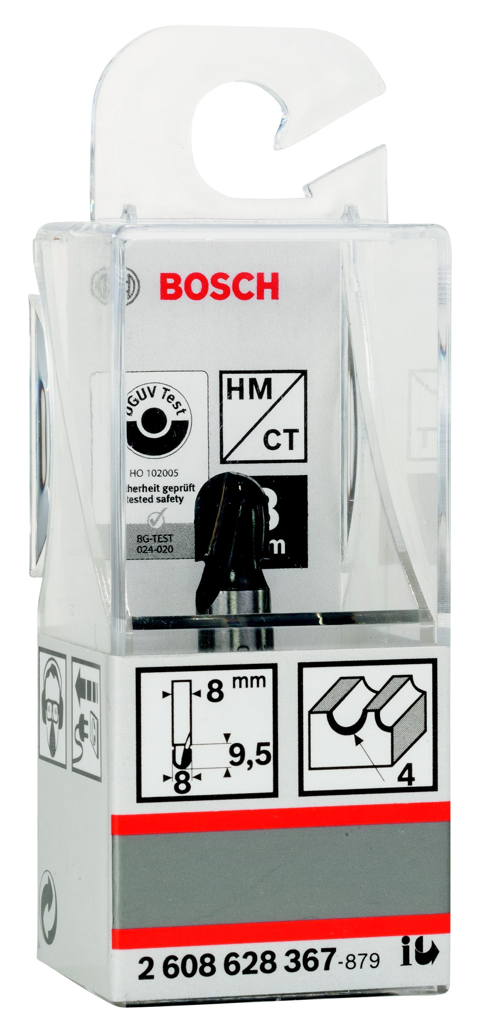 Купить Фреза Bosch галтельная 4/9.5/8 (2.608.628.367), Германия