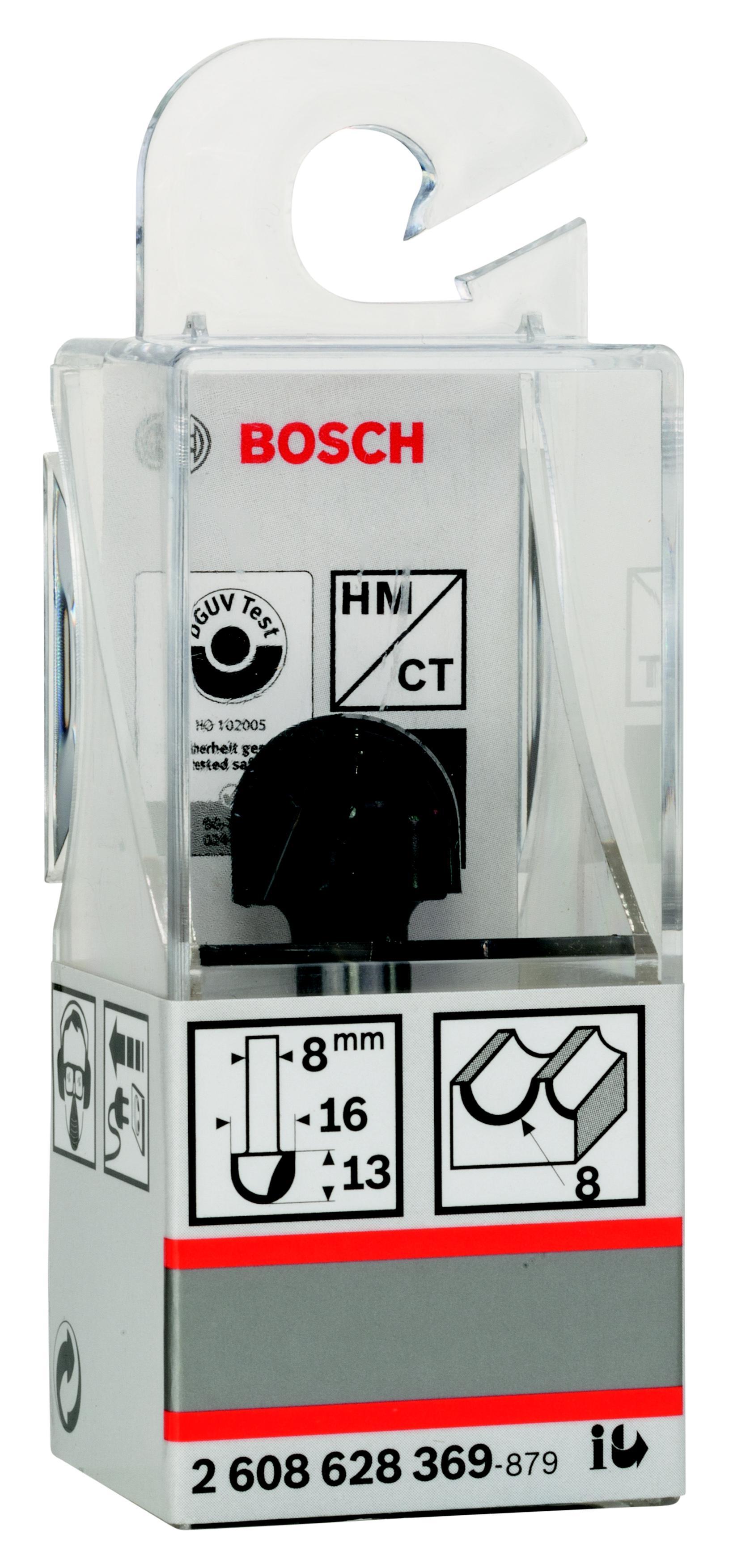 Фреза Bosch галтельная 8/13/8 (2.608.628.369) фреза галтельная bosch 2608628369