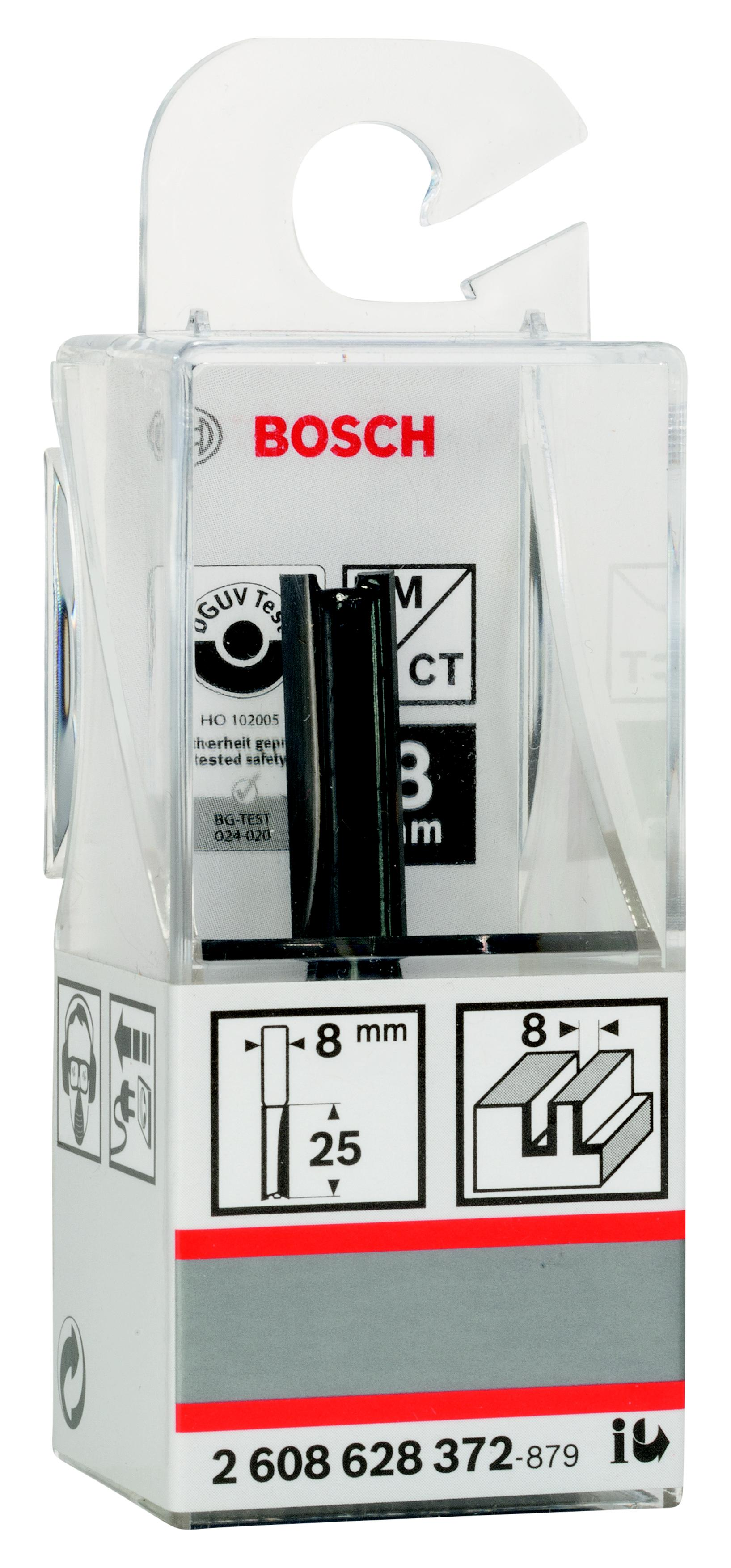 Фреза Bosch пазовая 8/25/8 (2.608.628.372) 8 0