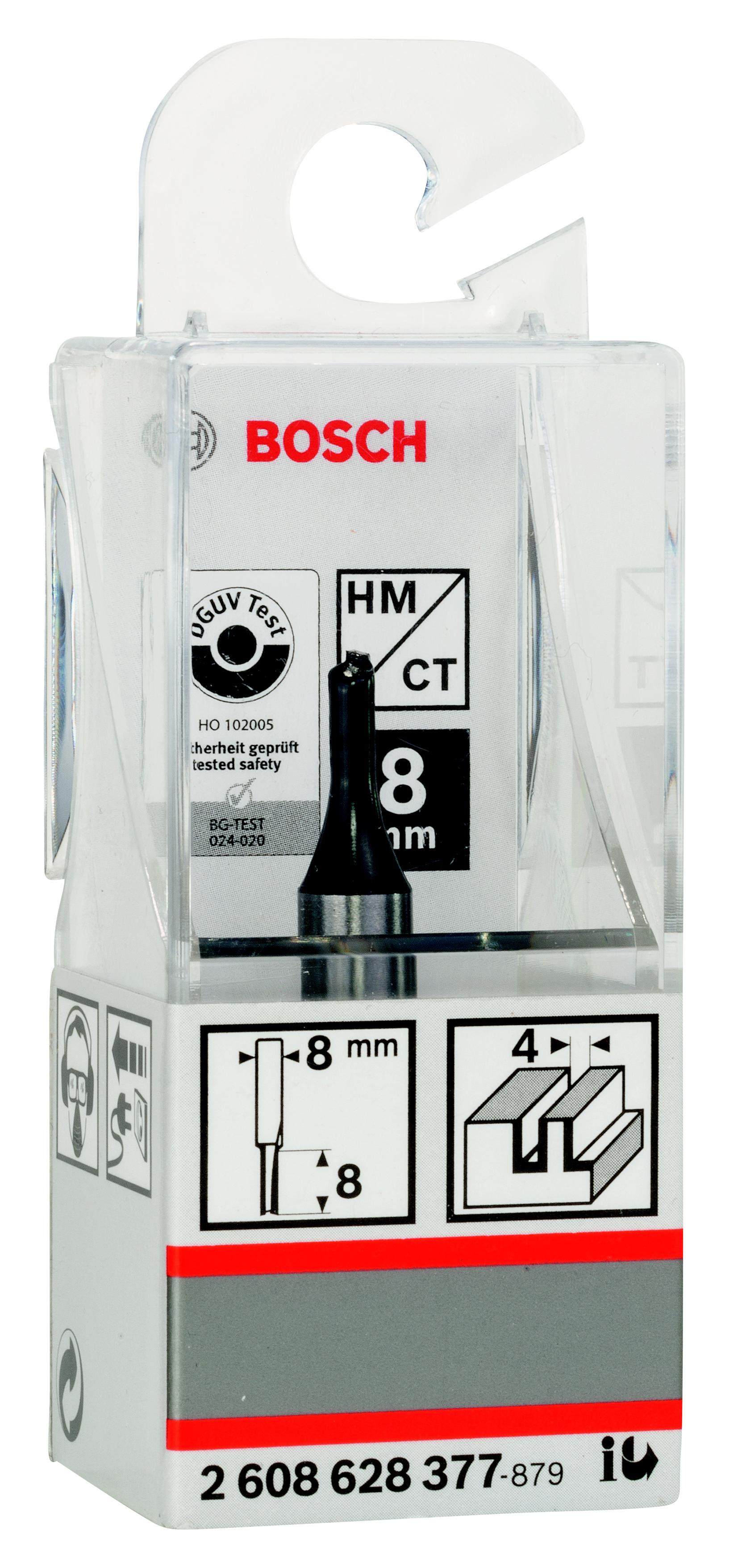 Фреза Bosch пазовая 4/8/8 (2.608.628.377) 8 0