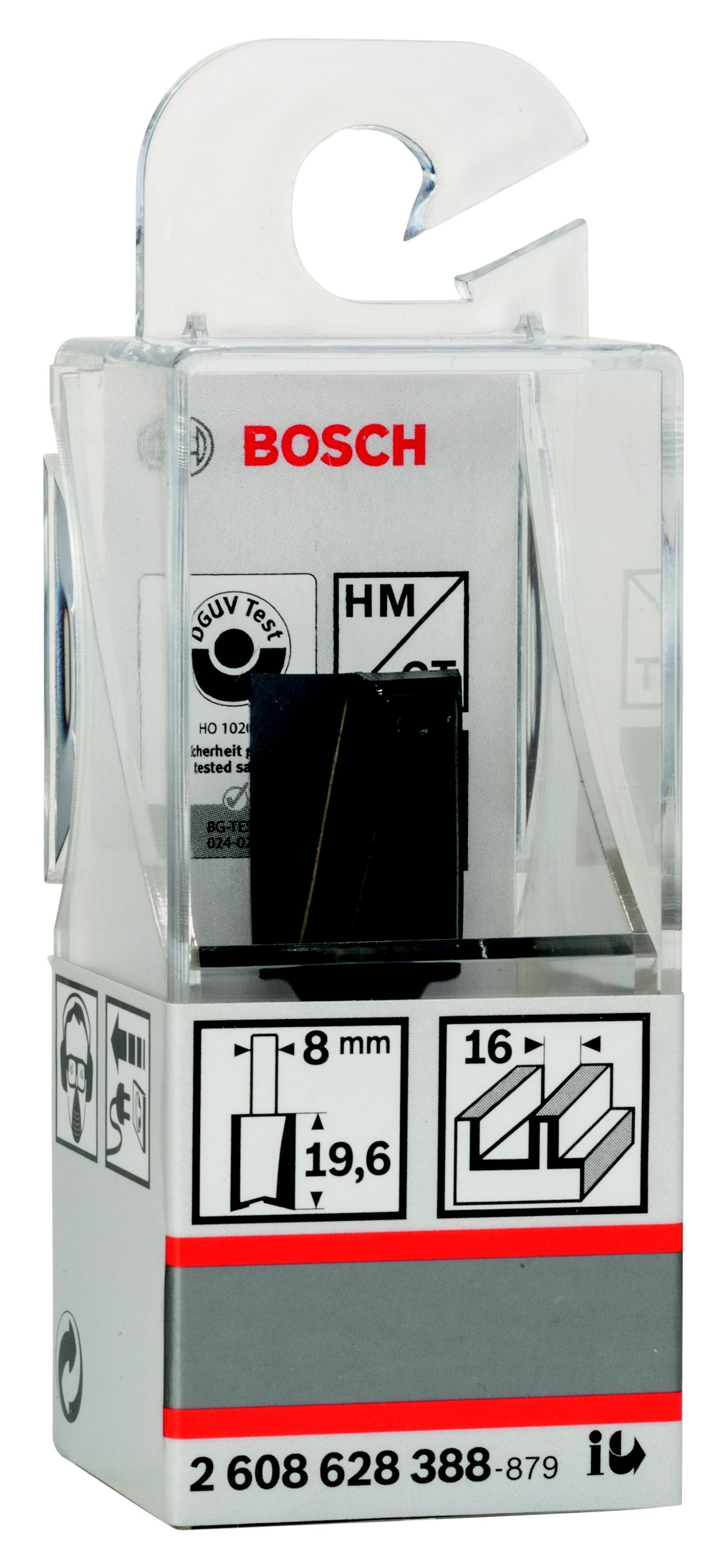 Фреза Bosch Ф16мм s8мм i20мм (2.608.628.388) фреза bosch ф16мм s8мм i12 7мм 2 608 628 369
