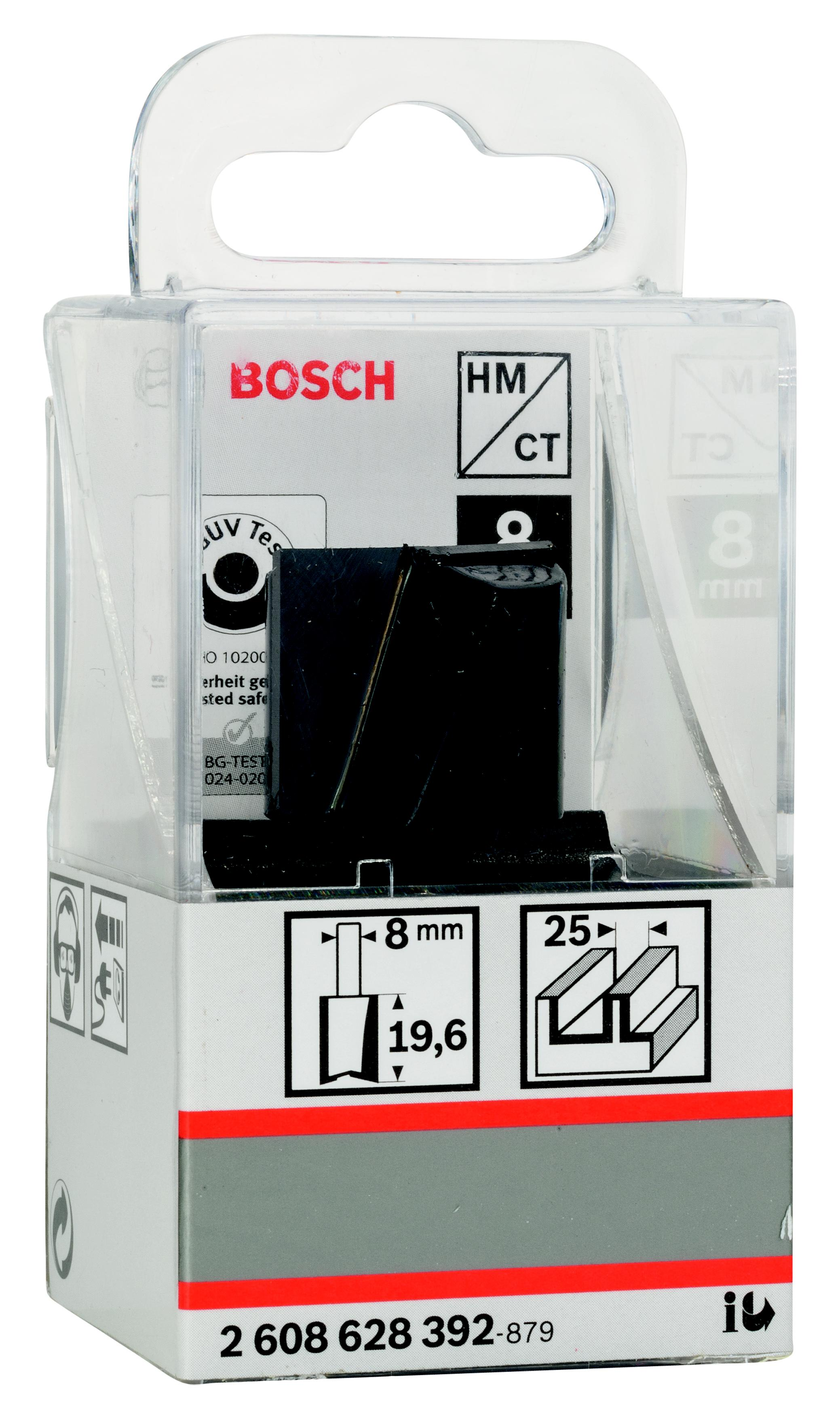 все цены на Фреза Bosch пазовая 25/20/8 (2.608.628.392)