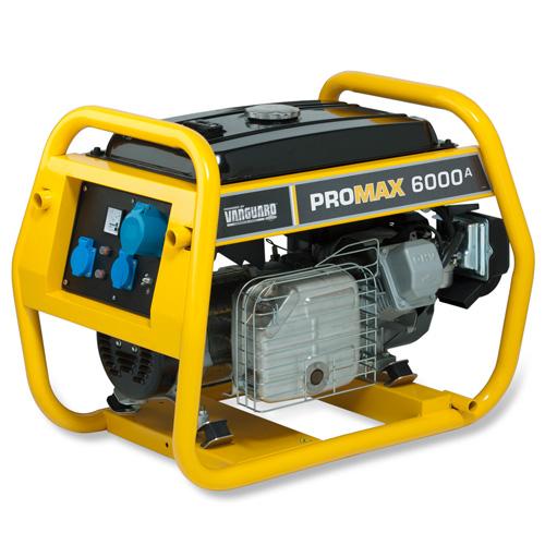 Бензиновый генератор Briggs & stratton Promax 6000 a генератор бензиновый eurolux g2700a