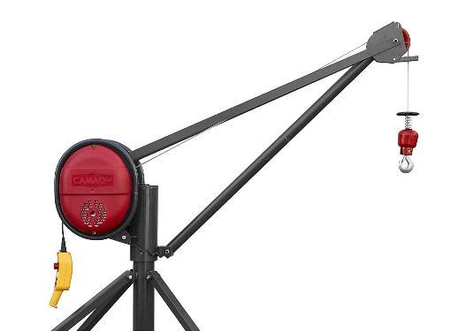 Строительная лебедка CAMAC MINOR PLUMA 500 KG CMP500