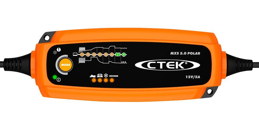 Зарядное устройство Ctek Mxs 5.0 polar edition УТ000013220 зарядное устройство ctek mxs 5 0 polar сигнальный жилет в подарок