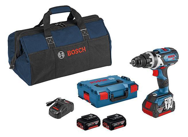 Набор Bosch Дрель аккумуляторная gsr 18v-85 c (06019g0100) +Сумка 1619bz0100 дрель шуруповерт аккумуляторная bosch gsr 18v 85 c 06019g0100