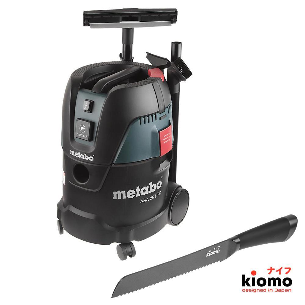 Набор Metabo Пылесос asa25lpc (602014000) + Японский нож kiomo