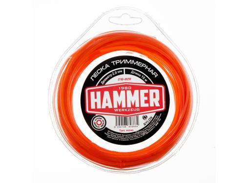 Леска для триммеров HAMMER 216-828