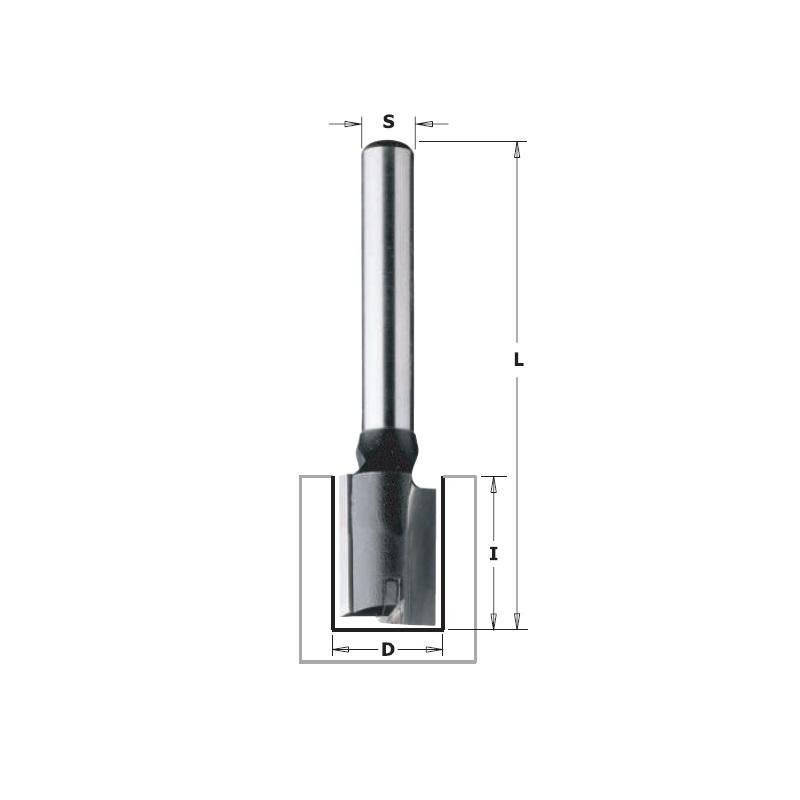 Фреза Cmt Ф 10мм s 8мм i 20мм (k174-100)