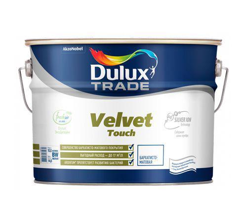 Краска Dulux Velvet touch bw 5 л