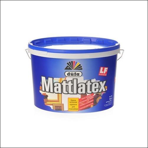Краска Dufa Dufa mattlatex d100 белая 10 л стоимость