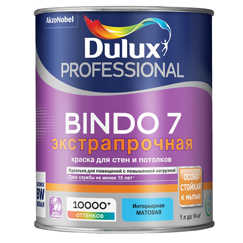 Краска Dulux Professional bindo 7 bc 0,9 л краска dulux professional bindo 7 bc 0 9 л