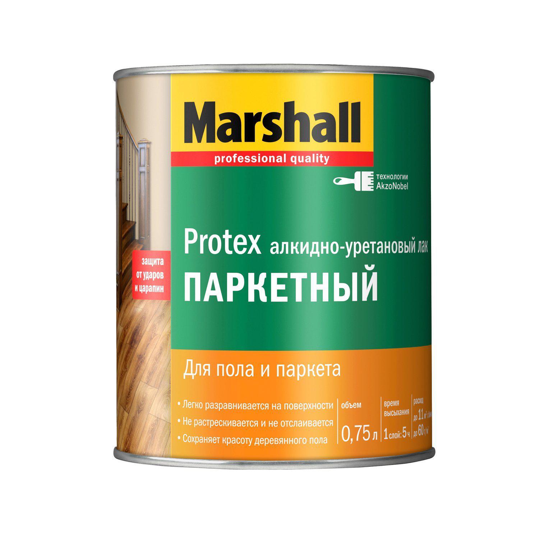 Лак Marshall Protex 0,75 л цена и фото