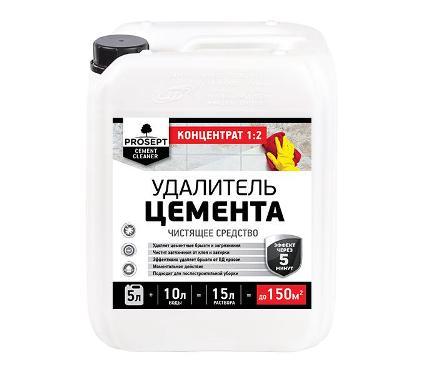 Удалитель цемента PROSEPT Cement Cleaner концентрат 1:2 5 л