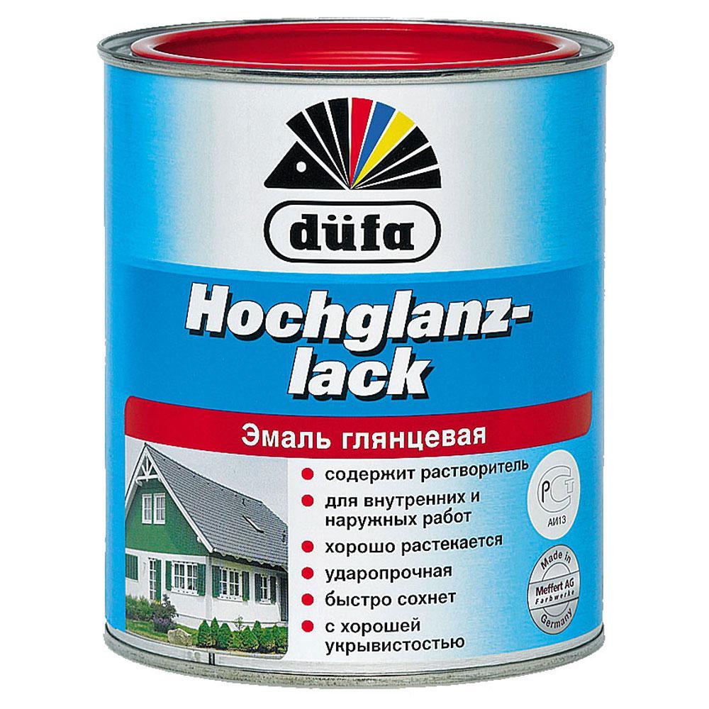 Эмаль Dufa Hochglanzlack белая 2,5 л