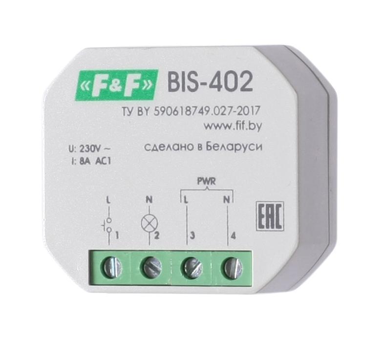 Реле импульсное ЕВРОАВТОМАТИКА f&f Bis-402