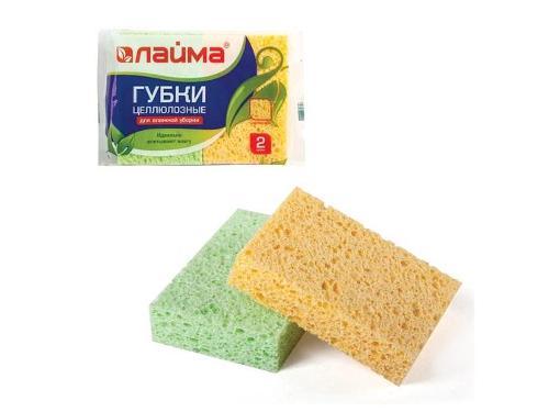 Губка хозяйственная ЛАЙМА 601590