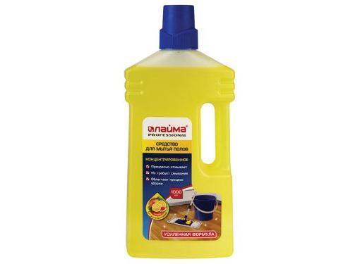 Средство для мытья полов ЛАЙМА Professional Цитрусовый микс (604795) концентрат 1 л