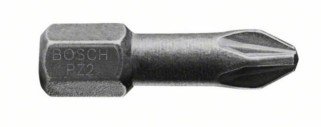 Бита Bosch Diamond impact pz2 25 мм, 1 шт. (2.608.522.044) цена