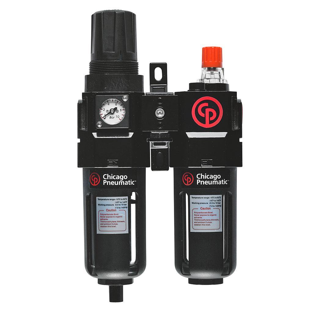 Блок подготовки воздуха Chicago pneumatic Composite frl 1/4 (8940171927)