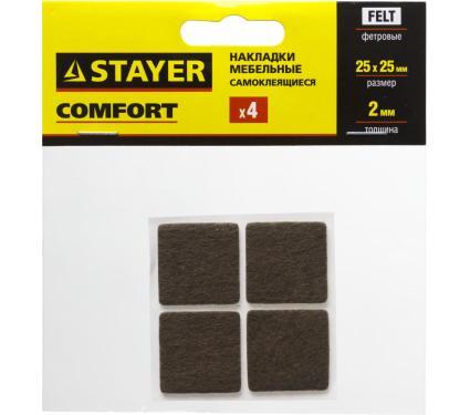 Накладки на мебельные ножки STAYER COMFORT 40912-25