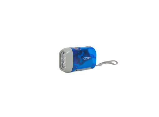 Фонарь СТАРТ LDE 701-B1 Blue синий
