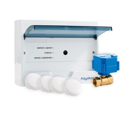 Система контроля протечки воды AQUABAST Коттедж 1