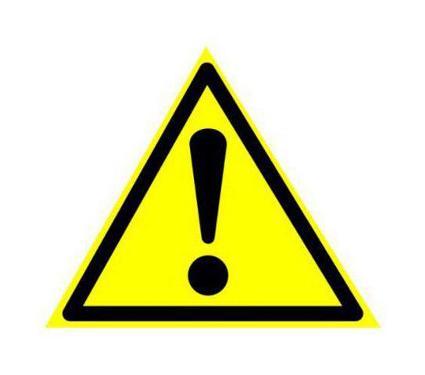 Знак TDM Внимание. Опасность 150х150мм (SQ0817-0030)