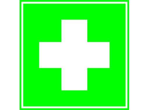Знак TDM Медицинская аптечка 150х150мм (SQ0817-0023)
