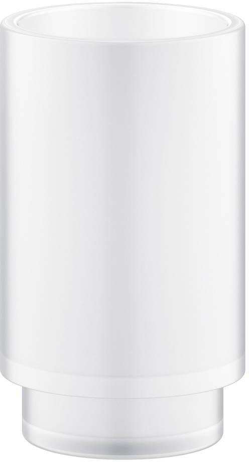 Настольный стакан Grohe Selection 41029000 стекло, белый матовый