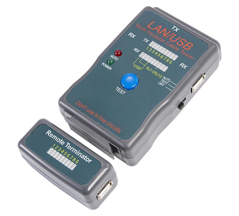 Тестер кабеля Rexant 251454 (12-1011)