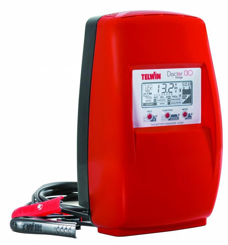 Устройство пуско-зарядное Telwin Doctor charge 130 230v 12v/24 v (807599)