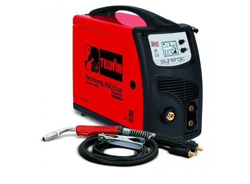 Сварочный аппарат TELWIN Technomig 260 Dual Synergic 230 V (816056)
