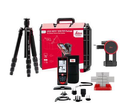 Лазерный дальномер LEICA 887900  (комплект disto™ s910 new 300 м)