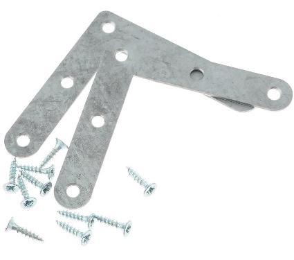 Уголок мебельный с шурупом TECH-KREP 110084