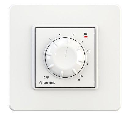 Терморегулятор TERNEO rol  16А белый
